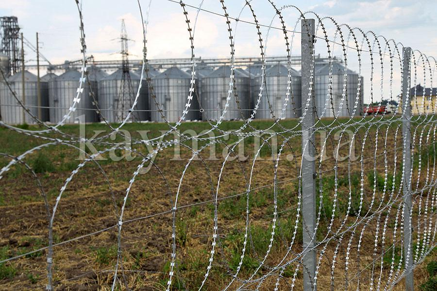 Kayman flat security barrier fence