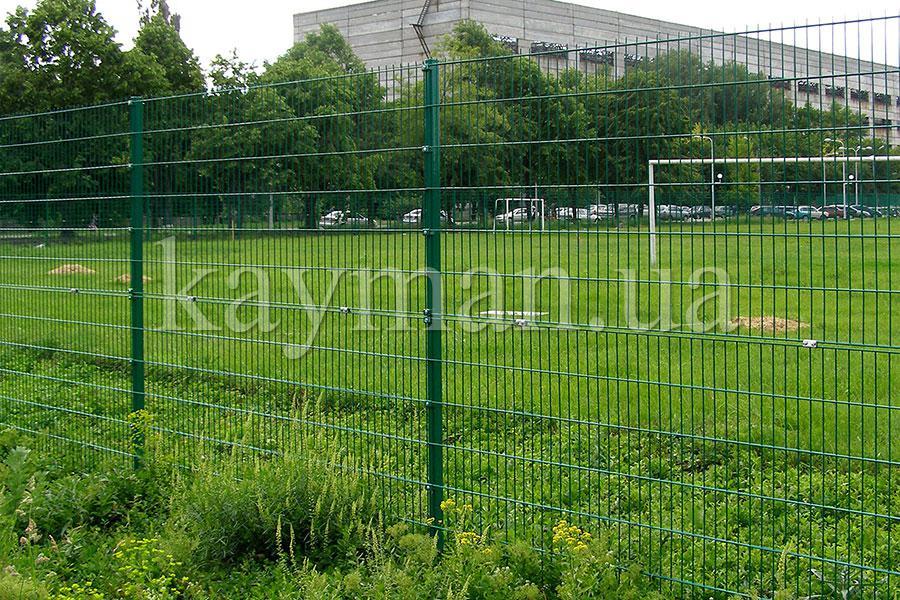 Забор сварной сетки
