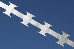 Колюча стрічка Єгоза з оцинкованої сталі