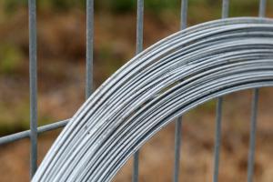 Tension wire skein