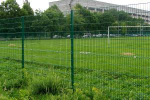 Забор из сварных панелей
