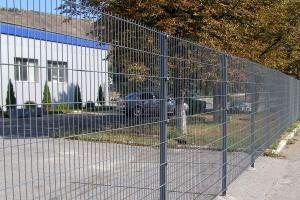Fencing of the territory of the enterprise